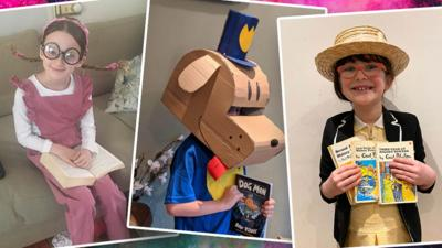 Blue Peter - Show us your World Book Day costumes