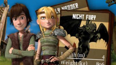 Dragons - Defenders of Berk - Dragons Card Battler