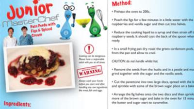 Junior MasterChef - Pain Perdu with Figs Recipe