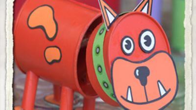TOTALLY RUBBISH - Nodding Dog Activity Sheet