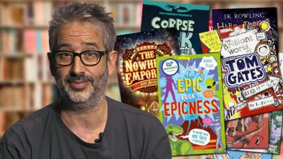 CBBC Book Club - Authors' top reads for right now!