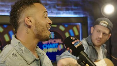 CBBC Official Chart Show - Aston Merrygold performs I Ain't Missing You