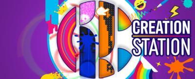CBBC Creation Station Logo.