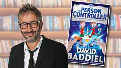 CBBC Book Club - David Baddiel answered your questions