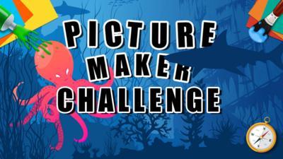 CBBC - Picture Maker Challenge - Underwater Kingdom