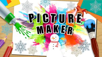 CBBC - CBBC Picture Maker: Winter Edition