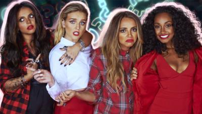 CBBC Official Chart Show - Chart Show Vlog: Little Mix's Little Quiz