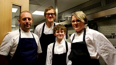 All Over The Workplace - Being a chef - find out more