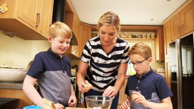 CBBC Dish Up - Crash My Kitchen - Adam and Thomas