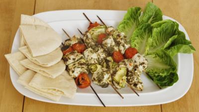 CBBC Dish Up - Chimichurri Chicken Kebabs
