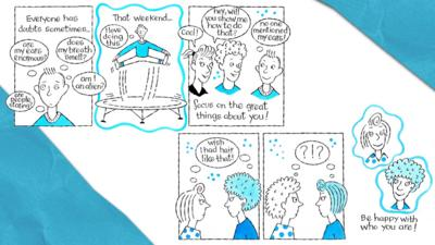 A comic strip about having confidence in yourself