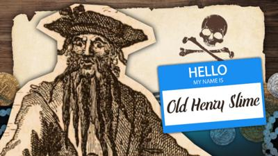 CBBC - What is Your Ultimate Pirate Name?