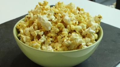 CBBC Dish Up - How to make Curry Popcorn