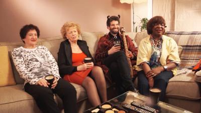 The Dare Devil - Grannies react to The Dare Devil
