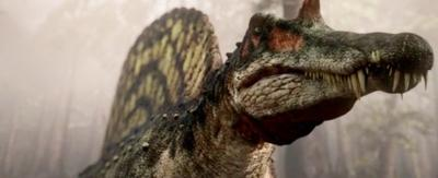 A Spinosaurus.