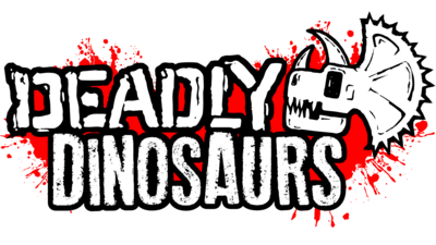 The Deadly Dinosaurs logo.