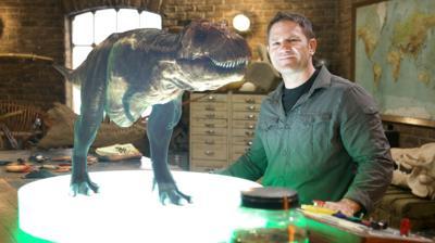 Deadly Dinosaurs - Steve tackles T-Rex teeth