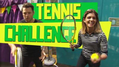 The Dengineers - Lauren v Mark - Tennis Challenge