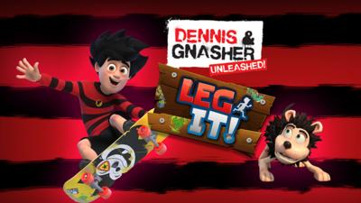Dennis and Gnasher Unleashed - The Dennis & Gnasher: Leg It app