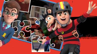 Dennis and Gnasher Unleashed - Jigsaw: Dennis and Gnasher Unleashed