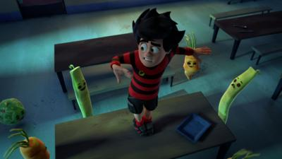 Dennis and Gnasher Unleashed - Night of the living veg!