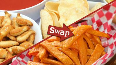 CBBC Dish Up - Top 10 Food Swaps
