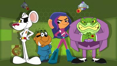 Danger Mouse - Danger Mouse Super Awesome Danger Squad