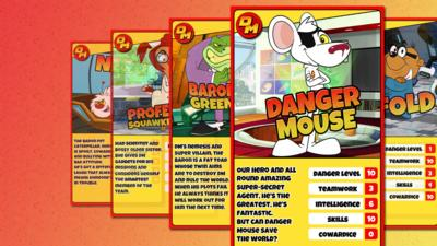 Danger Mouse - Danger Mouse Character Cards