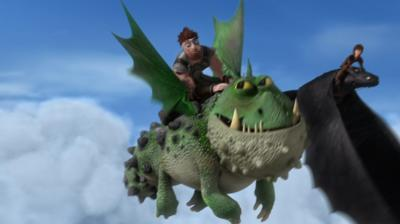 Dragons: Race to the Edge - Dagur learns to fly