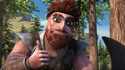 Dragons: Race to the Edge - Hiccup's getting a helping hand