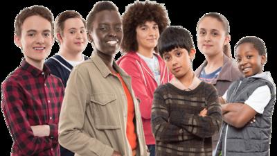 Seven cast members.