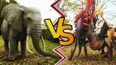 Endlings - It's elephant versus alien in Endlings!