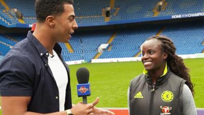 MOTD Kickabout - Eniola Aluko talks Chelsea