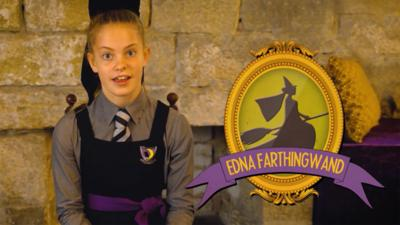The Worst Witch - Ethel's Hallowed Hall: Edna Farthingwand