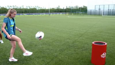 Match of the Day Kickabout - Everton FC Women: Hat Trick Challenge