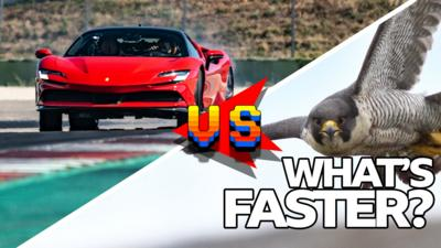 Top Gear - Is it faster than a supercar?