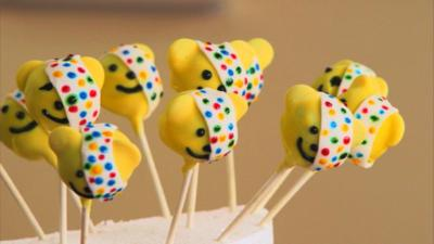 Friday Download - Bake It - Pudsey Bear Cake Pops