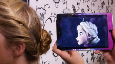 Friday Download - Anaïs gets a Frozen makeover