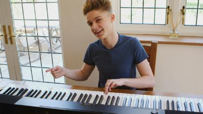 Friday Download - Harvey's piano practice