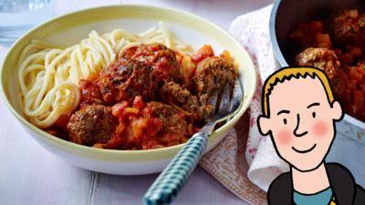CBBC Dish Up - Frank's Meatballs