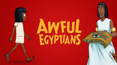 Awful Egyptians logo.