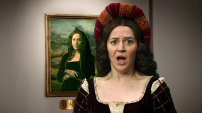 Horrible Histories - Da Vinci & Mona Lisa - Hello, It's A Me