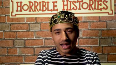 Horrible Histories - Who is Karim's Favourite Historical Person?