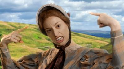 Horrible Histories - Bronte Sisters - Writing Family Song