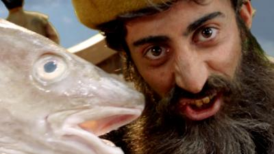 Horrible Histories - John Cabot finds big fish (& North America)