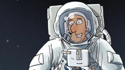 Horrible Histories - Quiz: Moon Mayhem - The Moon Landing
