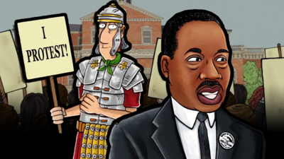 Horrible Histories - Quiz: Protest Throughout the Ages