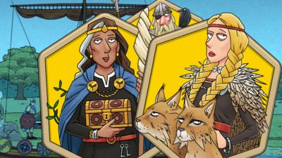 Horrible Histories - Which Norse God are you?