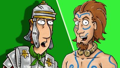 Horrible Histories - Quiz: Rotten Romans & Cut-throat Celts