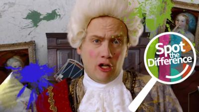 Horrible Histories - Spot the Difference: Horrible Histories 4
